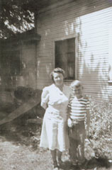 George and Mom